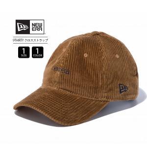 ニューエラ 9THIRTY キャップ NEW ERA キャップ クロスストラップ コーデュロイ レディース メンズ 帽子 ロゴ刺繍 12109051|jeans-yamato