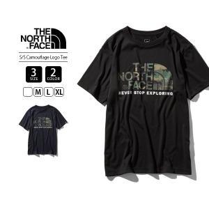 ノースフェイス Tシャツ メンズ 半袖 THE NORTH FACE Tシャツ CAMOUFLAGE LOGO TEE NT31932 jeans-yamato