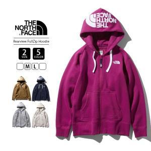 ノースフェイス レディース ジップパーカー スウェット 2019 THE NORT FACE Rearview FullZip Hoodie NTW61955|jeans-yamato