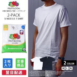 フルーツオブザルーム Tシャツ パックT FRUIT OF THE LOOM 半袖 2枚セット 綿100% インナー メンズ 922-503PK|jeans-yamato
