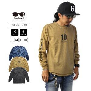 blue.black Tシャツ ブルーブラック Tシャツ 10BB L/S T-SHIRT メンズ 長袖 プリント バス釣り フィッシング BBL-002-A jeans-yamato