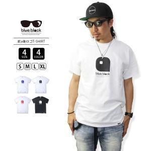 ネコポス対応 blue.black Tシャツ ブルーブラック Tシャツ LOGO PRINT S/S T-SHIRT メンズ 半袖 プリント バス釣り フィッシング BBL-004|jeans-yamato