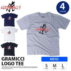 グラミチ Tシャツ ランニングマン GRAMICCI LOGO ロゴTシャツ S/S Tee Tシャツ カットソー トップス メンズ GMT-18S053|jeans-yamato