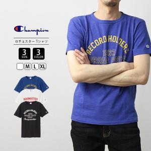 チャンピオン Tシャツ メンズ 半袖 Champion Tシャツ ロチェスターチャンピオンTシャツ C3-P330 jeans-yamato