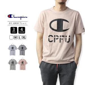 チャンピオン Tシャツ メンズ 半袖 ロゴ Champion Tシャツ CPFU 87C JERSEY Tシャツ 19SS C3-PS301 jeans-yamato