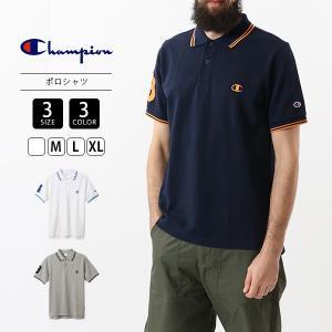 チャンピオン ポロシャツ メンズ 半袖 Champion Tシャツ アクションスタイル ポロシャツ C3-R331 jeans-yamato