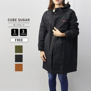 キューブシュガー アウター CUBE SUGAR アウター モッズコート ナチュラル系 服 19043055|jeans-yamato
