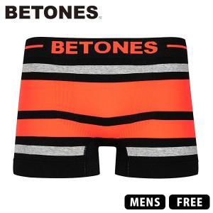 ネコポス対応 ビトーンズ ボクサーパンツ BETONES ボクサーパンツ BREATH BLACK アンダーウェア 男性用 下着 ショーツ BB001-3|jeans-yamato