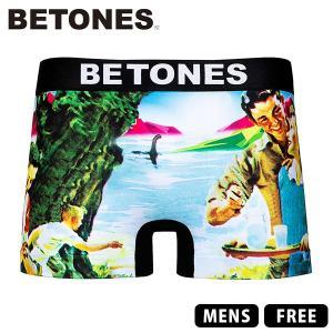 ネコポス対応 ビトーンズ ボクサーパンツ BETONES ボクサーパンツ FAKE2 アンダーウェア 男性用 下着 ショーツ FKE002|jeans-yamato