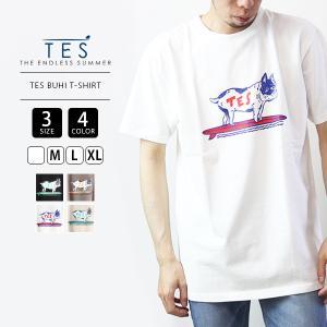 TES Tシャツ テス Tシャツ 半袖 The Endless Summer エンドレスサマー BUHI T-SHIRT 1574346 jeans-yamato