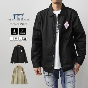 エンドレスサマー ジャケット コーチジャケット TES テス LOCAL CREW TC COACH JACKET サーフ 9774005|jeans-yamato