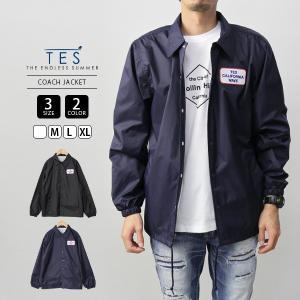 エンドレスサマー ジャケット コーチジャケット TES テス LOCAL CREW TC COACH JACKET サーフ 9774007|jeans-yamato