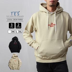 エンドレスサマー パーカー スウェット TES テス LOCAL CREW PARKA サーフ 9774301|jeans-yamato
