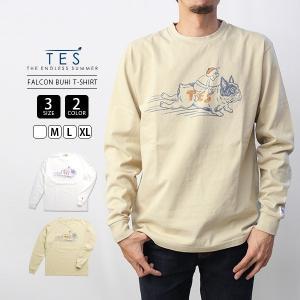 エンドレスサマー Tシャツ 長袖 TES Tシャツ ロンT TES FALCON BUHI T-SHIRT サーフ 9774317 jeans-yamato