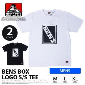 ベンデイビス BEN DAVIS Tシャツ 半袖 ロゴ ボックス プリント BOX PRINT TEE トップス C-8580023 jeans-yamato