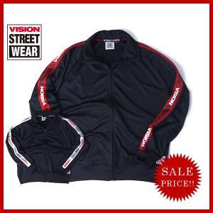 VISION STREET WEAR ジャージ トラックジャケット ビジョン ストリート ウェア ライトアウター BACK PRINT TRACK JACKET 7723203 jeans-yamato