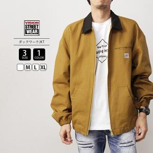 VISION STREET WEAR アウター VISION ダックワークジャケット ヴィジョンストリートウェア 9723109|jeans-yamato
