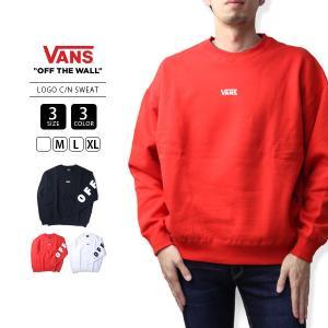 VANS トレーナー メンズ レディース 男女兼用 バンズ スウェット ヴァンズ VANS LOGO C/N SWEAT VA18FW-MC12 jeans-yamato