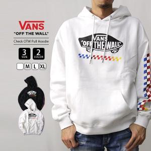 VANS パーカー メンズ レディース 男女兼用 バンズ スウェット ヴァンズ Check OTW Pull Hoodie VA19FW-MC05|jeans-yamato