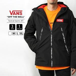 VANS ジャケット メンズ レディース 男女兼用 バンズ ジャケット アウター ヴァンズ Tactical Sports JKT  VA19FW-MJ01|jeans-yamato