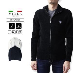 VIOLA RUMORE ニットジャケット ヴィオラルモーレ ジップアップジャケット モールニットジャケット イタリア ビター系 BITTER 81137|jeans-yamato
