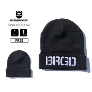 バスブリゲード キャップ ニットキャップ ニット帽 BASS BRIGADE ニットキャップ BRGD LOGO KNIT CAP BLKC101 jeans-yamato