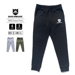 バスブリゲード スウェットパンツ BASS BRIGADE ボトムス メンズ BRGD SWEAT PANTS バスフィッシング バス釣り ブラックバス アウトドア BRSP01|jeans-yamato
