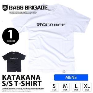 BASS BRIGADE バスブリゲード BRGD FINDER TEE ロゴ Tシャツ 半袖 プリント S/S バス釣り トップス メンズ  BFNDT01|jeans-yamato