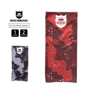 バスブリゲード ネックゲーター BASS BRIGADE ネックゲーター マフラー LAKE CAMO UV CUT NECK GAITOR 2 バス釣り ブラックバス アウトドア LCNG02 jeans-yamato