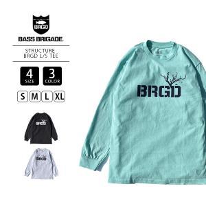 バスブリゲード ロンT BASS BRIGADE ロンT ロングTシャツ 長袖 STRUCTURE BRGD L S TEE 474-STBR01 jeans-yamato