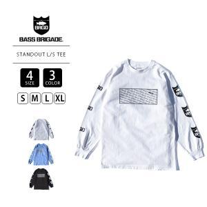 バスブリゲード ロンT BASS BRIGADE ロンT 長袖 STANDOUT L S TEE STNOD03 jeans-yamato