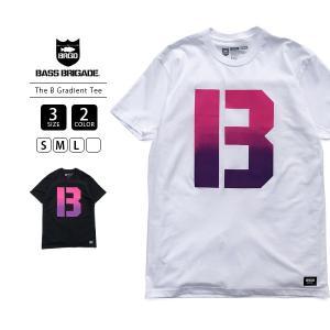 バスブリゲード Tシャツ BASS BRIGADE Tシャツ 半袖 メンズ THE B GRADIENT TEE バスフィッシング バス釣り ブラックバス アウトドア THEBT1|jeans-yamato