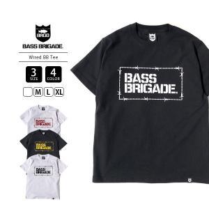 バスブリゲード Tシャツ BASS BRIGADE Tシャツ 半袖 メンズ WIRED BB TEE バスフィッシング バス釣り ブラックバス アウトドア WBBT01 jeans-yamato