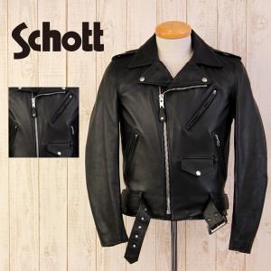 Schott ジャケット ショット ジャケット ONE STAR RIDERS 613US ワンスター ライダース ジャケット 日本別注 モデル メンズ 7007|jeans-yamato