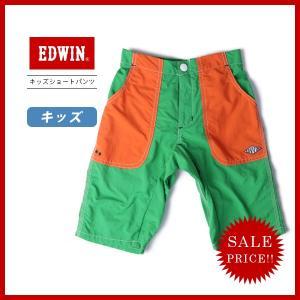 EDWIN キッズ エドウィン キッズ ハーフパンツ ショートパンツ ショーツ エドウイン 子供服 男の子 アウトドア OUTDOOR SHORTS J713ER jeans-yamato