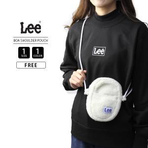 Lee ボア バッグ ショルダーバッグ リー もこもこショルダーポーチ LA0204|jeans-yamato