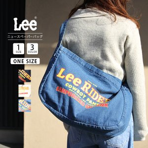 Lee バッグ ショルダー リー バッグ カバン かばん 鞄 ニュースペーパーバッグ LA0301|jeans-yamato