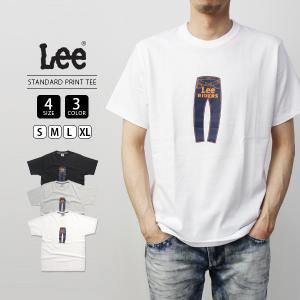 Lee Tシャツ 半袖 リー Tシャツ 半袖 STANDARD PRINT TEE カットソー トップス LT2527-1|jeans-yamato