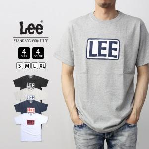Lee Tシャツ 半袖 リー Tシャツ 半袖 STANDARD PRINT TEE カットソー トップス LT2527-4|jeans-yamato