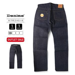 Denime ドゥニーム ジーンズ 初期 XX TYPE デッドストック アウトレット デニムパンツ D-HG1118 38インチ|jeans-yamato