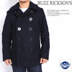 バズリクソンズ BUZZ RICKSON'S ピーコート P...