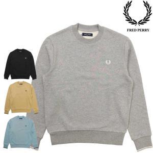 FRED PERRY (フレッド・ペリー)の クルーネックスウェットシャツです。  カラーは合わせや...