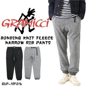 GRAMICCI グラミチ パンツ ボンディング ニット フリース ナロー リブパンツ GUP-19...