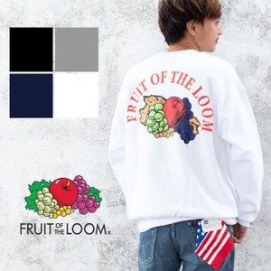 【FRUIT OF THE LOOM フルーツオブザルーム】オールドフルーツ クルーネック スウェット 023-501FL6|jeansstation