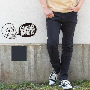 【CHEAP MONDAY チープマンデー 】デニム パンツ スキニー Tight Black Haze 0356733-U jeansstation