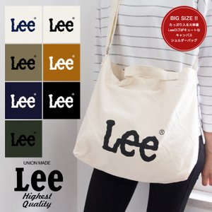 【Lee リー】Leeロゴ キャンバス ショルダーバッグ Mサイズ QPER60/0425402