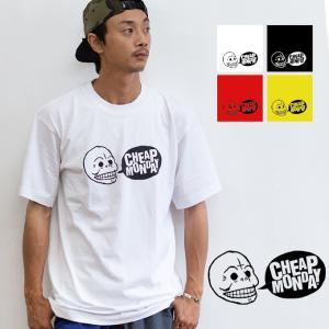【SALE!!】【 CHEAP MONDAY チープマンデー 】LOGO PRINT T-SHIRTS ロゴ プリント 半袖 Tシャツ 0640260-U jeansstation