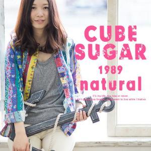 【CUBE SUGAR キューブシュガー】ガーゼツイル花柄プリントシャツ 12110304|jeansstation