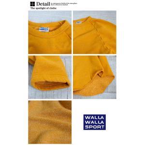 【SALE20%OFF!】【 WALLA WALLA SPORT ワラワラスポーツ 】 L/S SWEAT LOOSE BASEBALL TEE ルーズ ベースボールティー スウェット WW030117-SR / 30117-SR|jeansstation|13