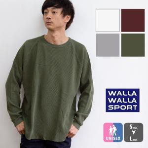 【SALE20%OFF!】【 WALLA WALLA SPORT ワラワラスポーツ 】 L/S TH...